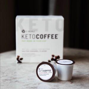 Keto coffee pods